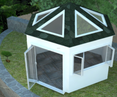 Hot Tub Enclosures