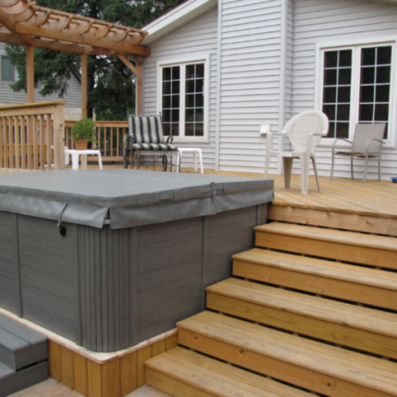 Hot Tub Encloser, Spa Enclosures, Hot Tub Enclosures, Hot Tub Gazebos D M Outdoor Living Spaces