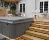 Spa Enclosures, Hot Tub Enclosures, Hot Tub Gazebos D M Outdoor Living Spaces