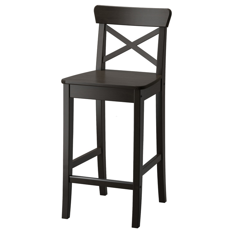 Barstool Pictures, Ingolf Bar Stool With Backrest