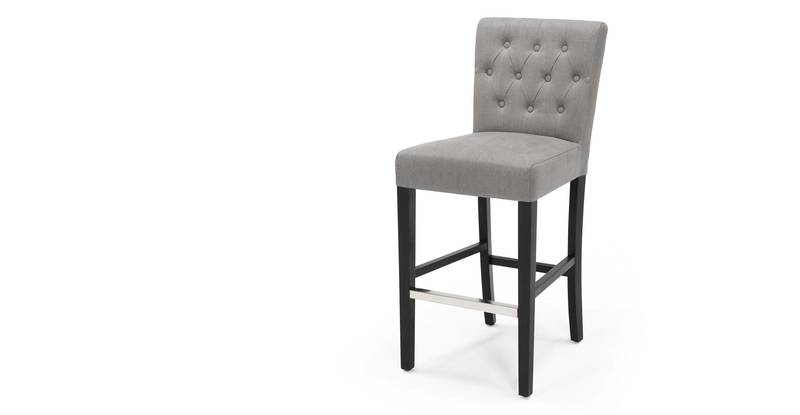 Barstool Pictures, Flynn Bar Stool, Graphite Grey
