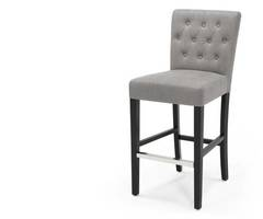 Flynn Bar Stool, Graphite Grey