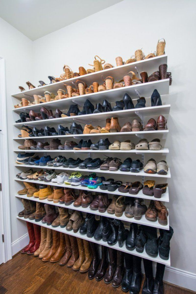 Cabinet Shoe Organizer, Best 25+ Shoe Organizer For Closet Ideas On Pinterest
