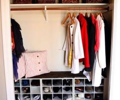Best 25+ Shoe Organizer Closet Ideas On Pinterest