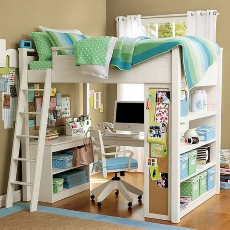 Lofted Bed Girl Ideas, Best 25+ Beds For Girls Ideas On Pinterest