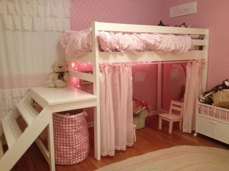 Lofted Bed Girl Ideas, Best 25+ Girl Loft Beds Ideas On Pinterest