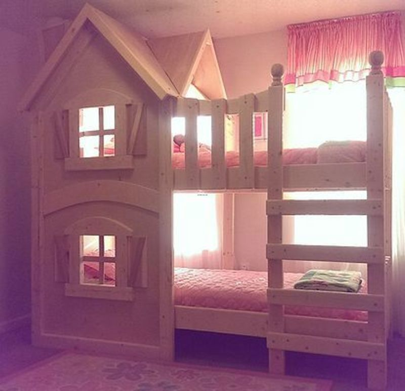 Lofted Bed Girl Ideas, Best 25+ Bunk Bed Ladder Ideas On Pinterest