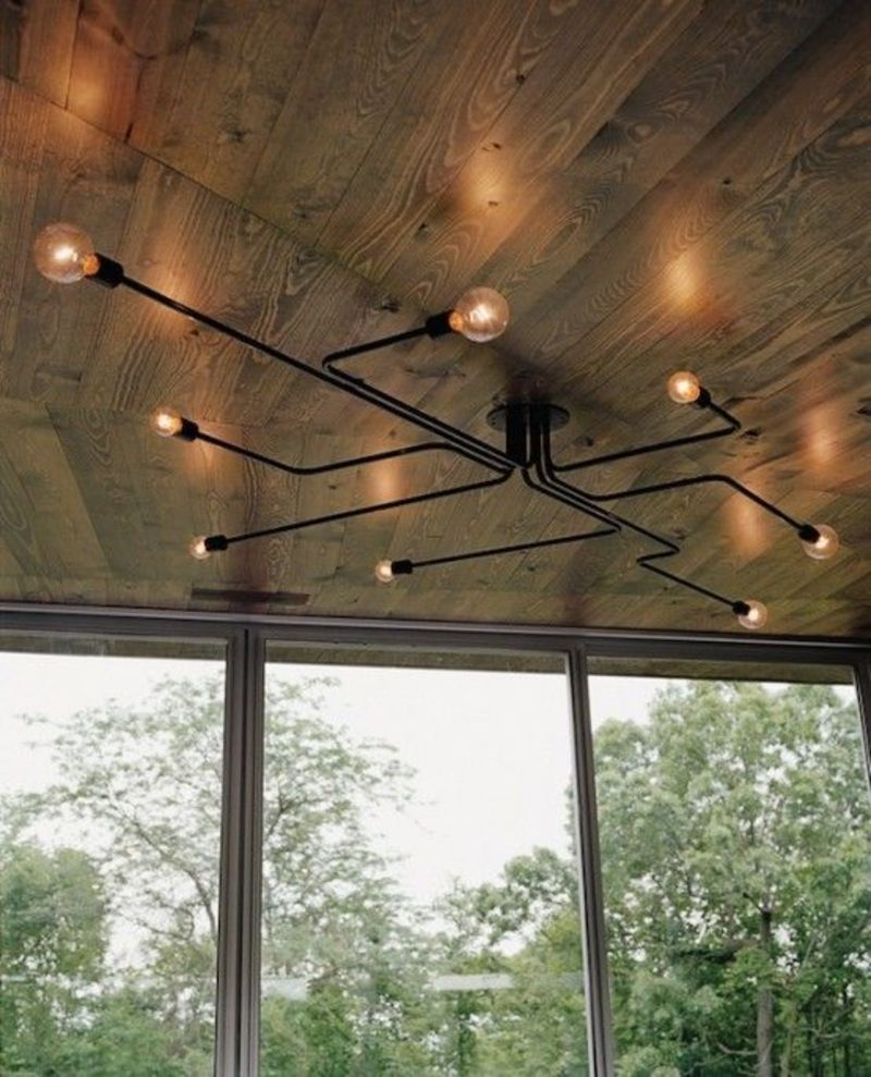 Midcentury Modern Wood Ceiling Lights, Best 20+ Mid Century Chandelier Ideas On Pinterest