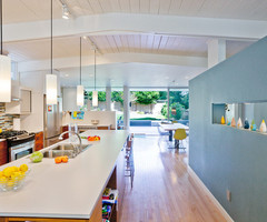 Suspended Track Lighting Kitchen Midcentury With Midcentury Modern Wood Ceiling – Themonumentview.Net