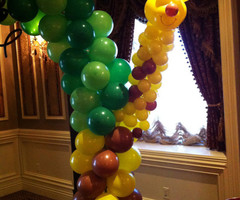 Balloon Decoration, My Deco Balloon Jungle Safari Balloon Decorations