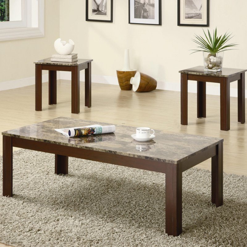 "Furniture Malta Tsbles Modern, ""Malta"" Coffee Table Set Los Angeles"