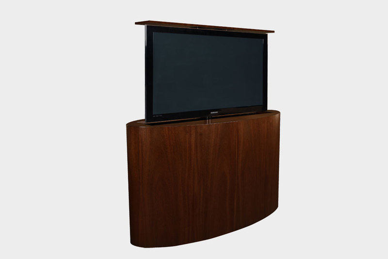 Tv Furniture For Flat Screens, Flat Screen Tv Lift Cabinet