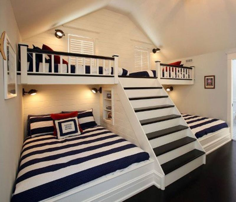 Top 25 Best Double Bunk Beds Ideas On Pinterest