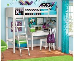 Top 25+ Best Girl Loft Beds Ideas On Pinterest