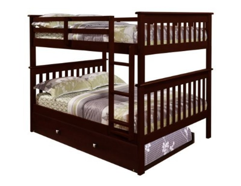 Girls Bunk Beds With Double Bed On Bottom, Amazon.Com