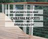 Top 25+ Best Cable Railing Ideas On Pinterest