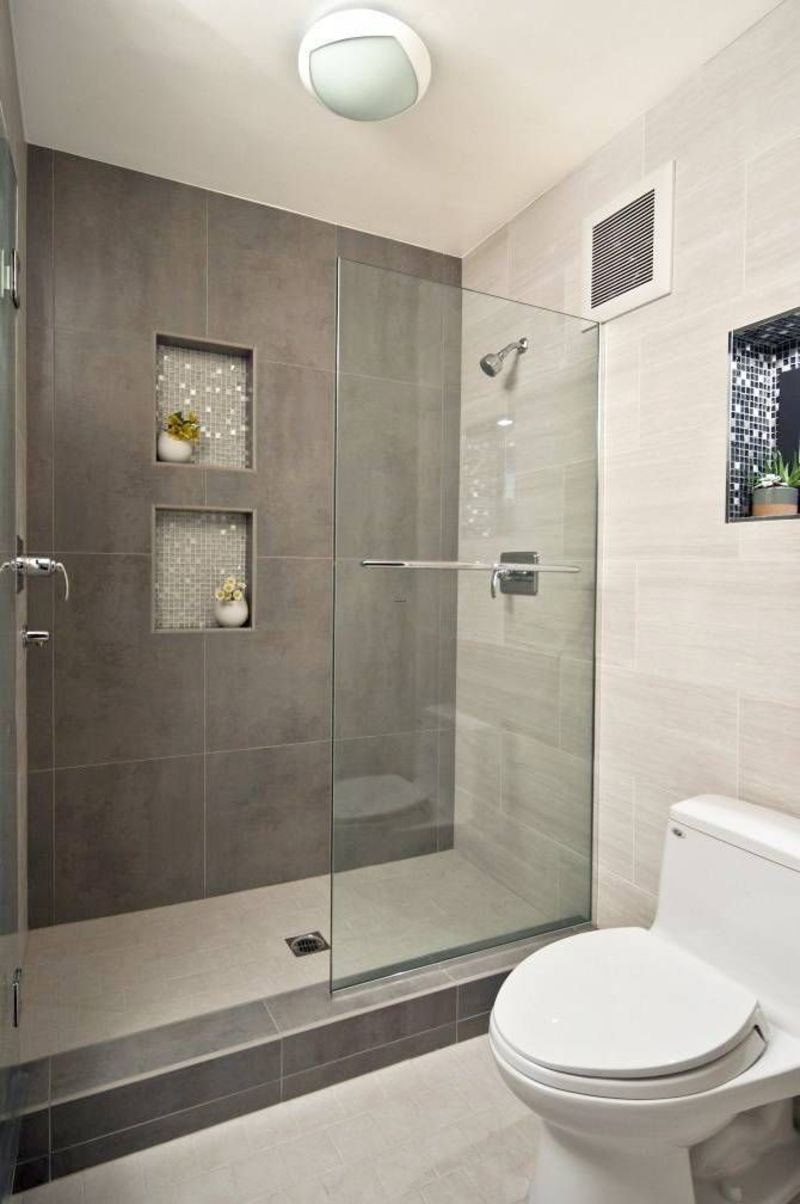 Small Bathroom Designs, Modern Walk