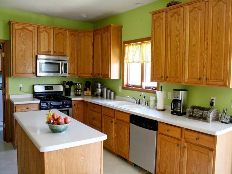Colors For Kitchen Walls, Green Kitchen Walls