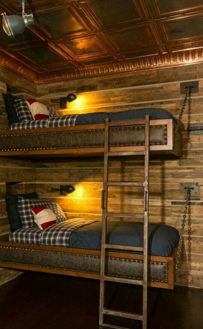 Best 25 Farmhouse Bunk Beds Ideas On Pinterest