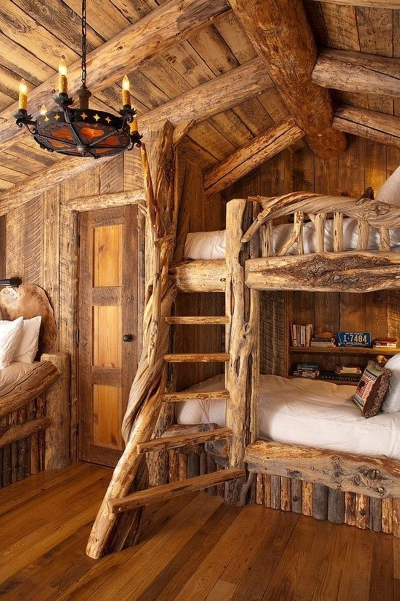 Rustic Bunk Beds For Kids, Best 25+ Cabin Bunk Beds Ideas On Pinterest