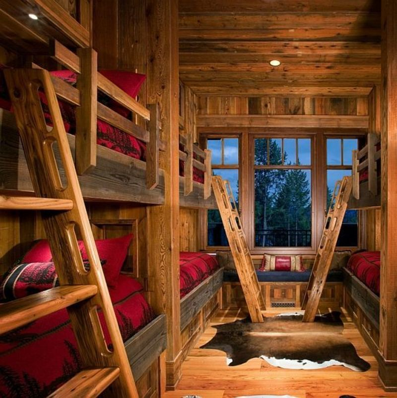 Rustic Bunk Beds For Kids, Best 25+ Rustic Bunk Beds Ideas On Pinterest