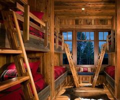 Best 25+ Rustic Bunk Beds Ideas On Pinterest