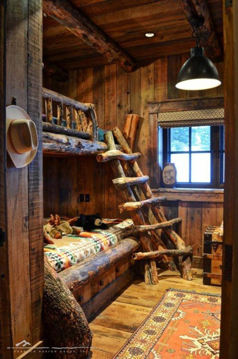 Rustic Bunk Beds For Kids, Best 25+ Bunk Bed Fort Ideas On Pinterest