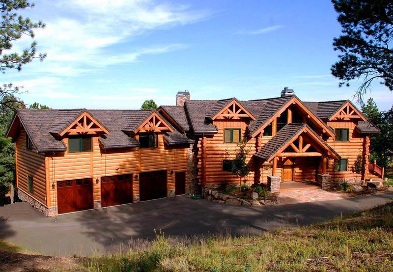Country Homes, Custom Log Homes In Pagosa Springs