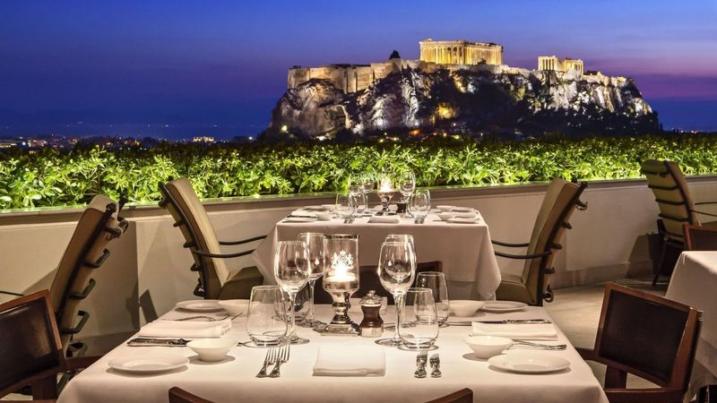 Restaurant Modern Roof, Where To Eat And Drink With A View Of Athens