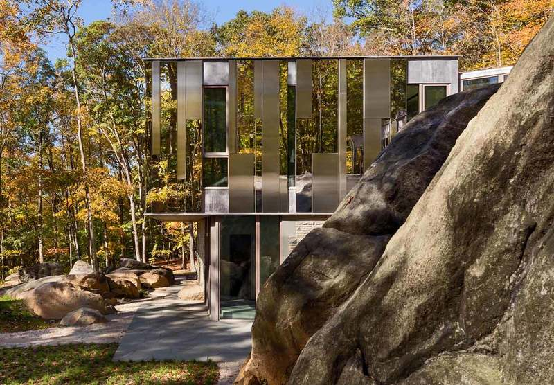 The House On The Terrain, Pound Ridge House