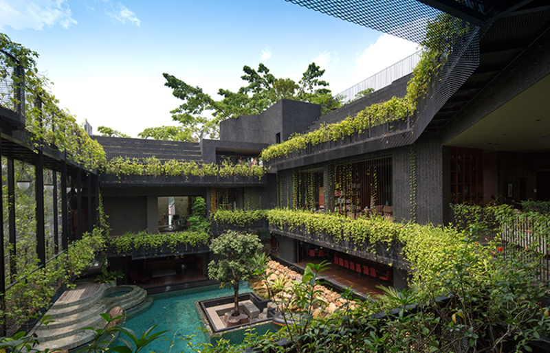 The House On The Terrain, [Photos] This Cornwall Gardens Home In Singapore Is The Pinnacle Of Living With Nature