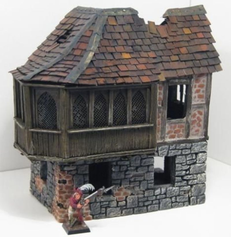 The House On The Terrain, 99 Best Mordheim Images On Pinterest