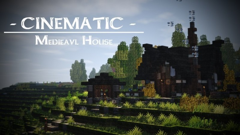 The House On The Terrain, Riverbend Medieval House – Minecraft Building Inc