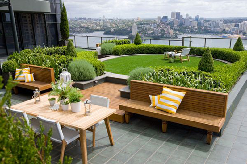 Zen Rooftop Terrace, Download Rooftop Design