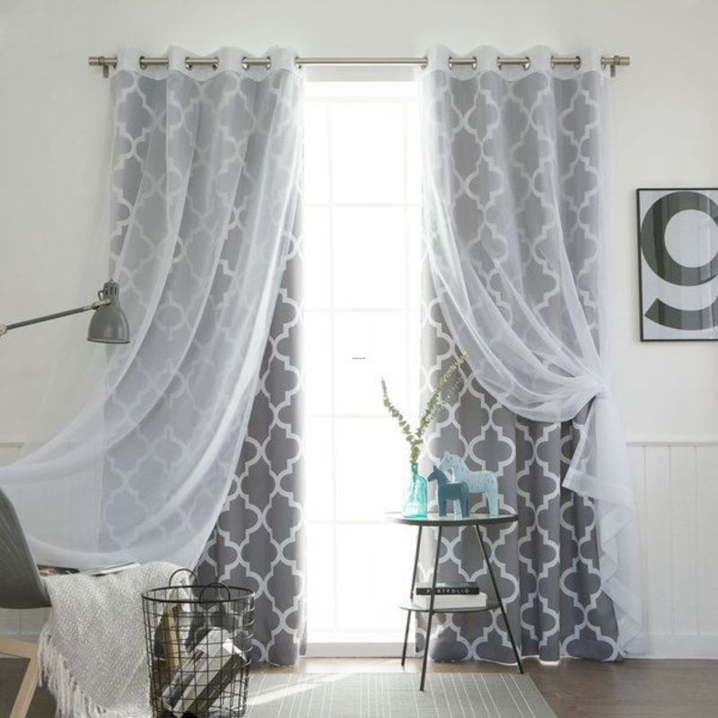 Living Room Curtains, 25+ Best Layered Curtains Ideas On Pinterest