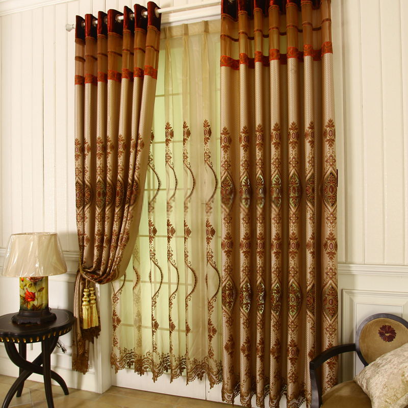 Living Room Curtains, Luxury Living Room Curtains Drapes Are Good Choices For You