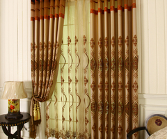 Luxury Living Room Curtains Drapes Are Good Choices For You
