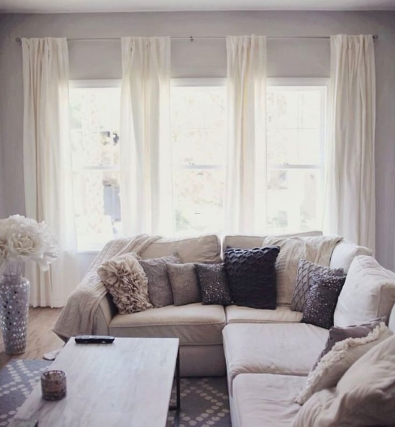 Living Room Curtains, Pinterestarrow