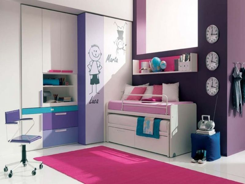 Ikea Teenage Girl Bedroom Ideas, Pictures Of Excellent Magnificent Color In Cool Bedroom Wall Ideas At Beauty Home Decoration Storage Solutions For Small Bedrooms Cool Bedroom Stor…