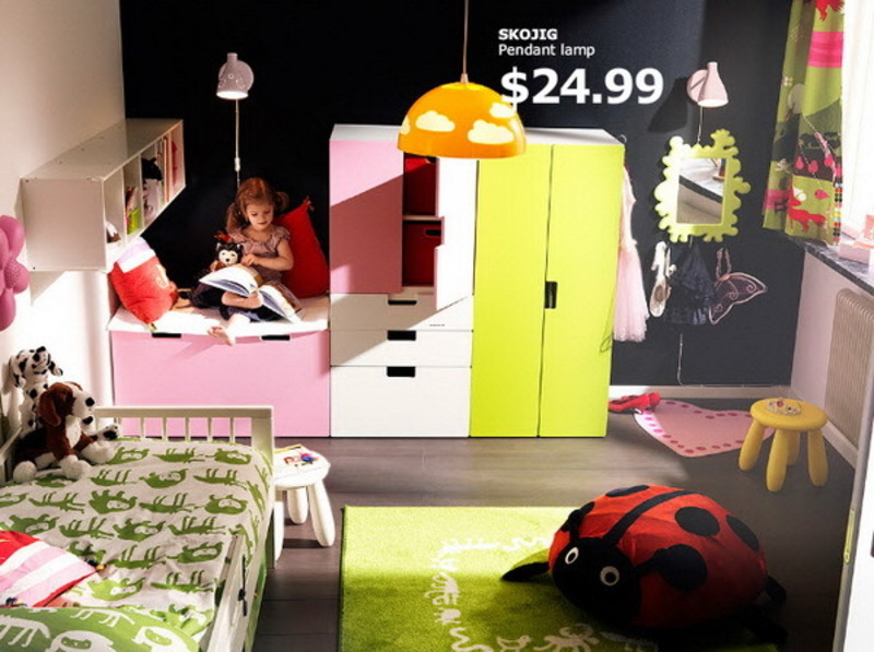 Ikea Teenage Girl Bedroom Ideas, Ikea Kids Rooms Catalog Shows Vibrant And Ergonomic Design Ideas