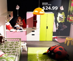 Ikea Kids Rooms Catalog Shows Vibrant And Ergonomic Design Ideas